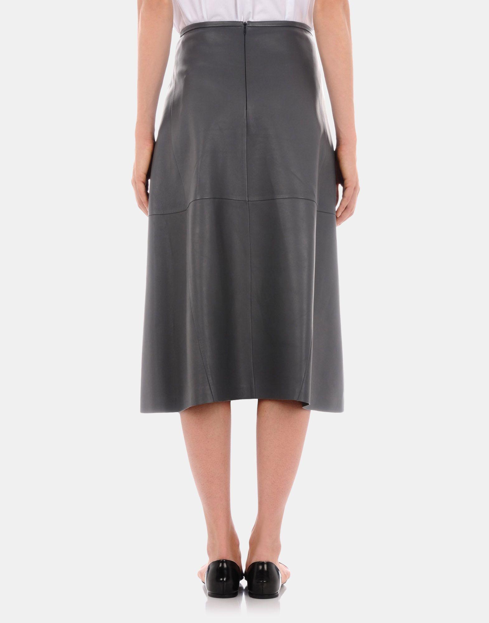 31a6dce92726 Leather skirt Women - Skirts Women on Jil Sander Online Store