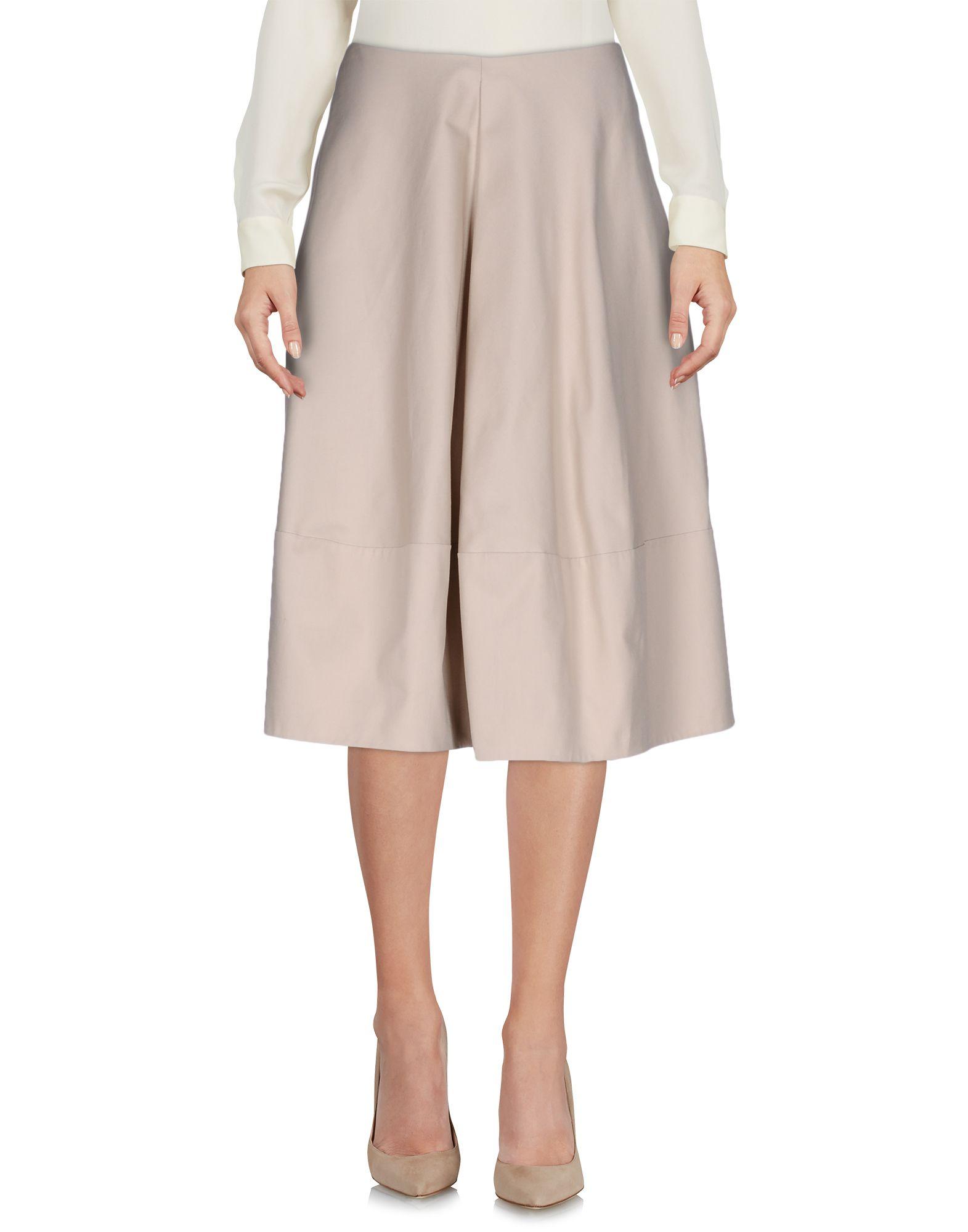jil sander navy female jil sander navy 34 length skirts