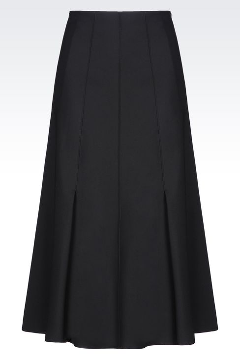 SKIRT IN SATIN: Skirts Women by Armani - 1