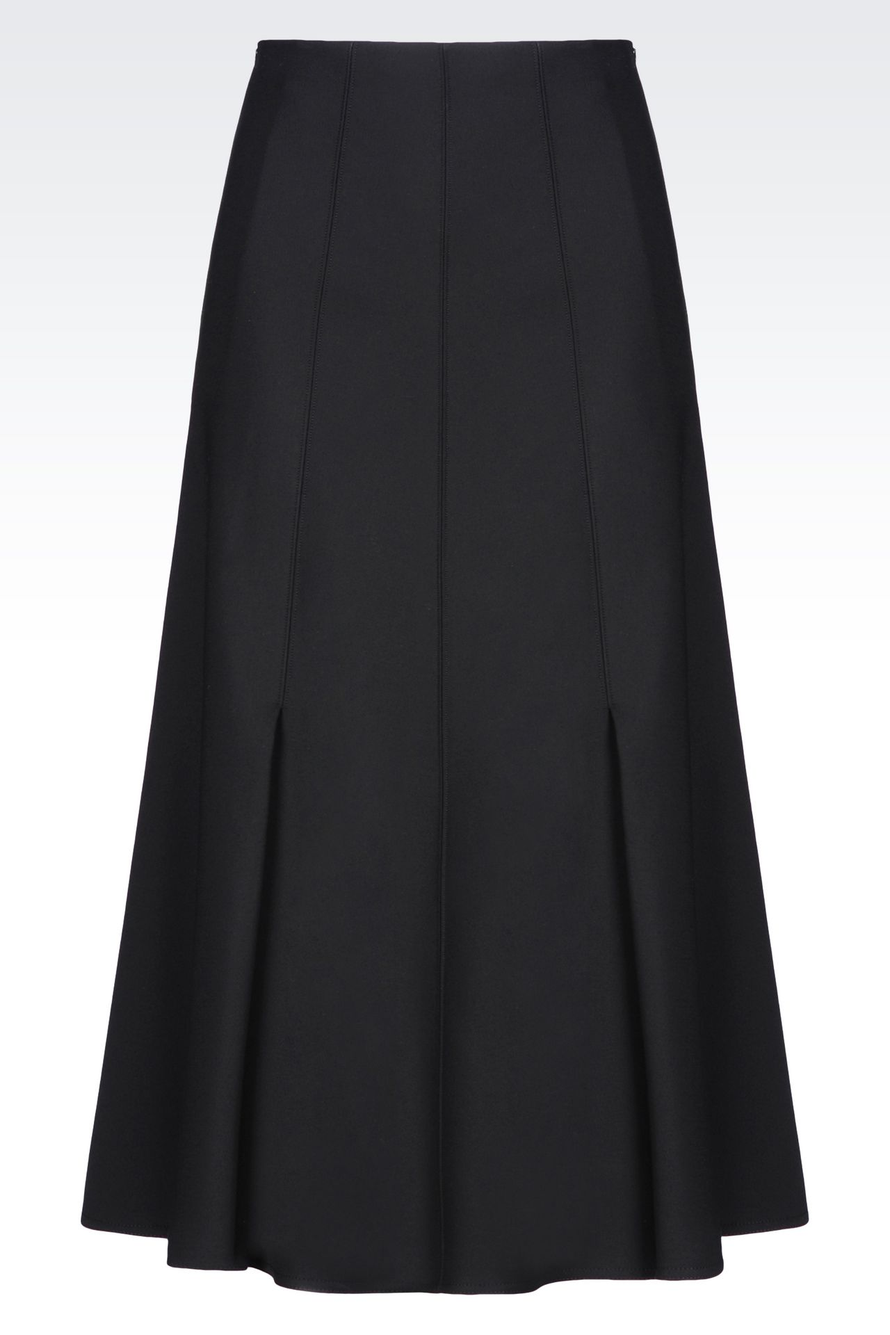 SKIRT IN SATIN: Skirts Women by Armani - 0