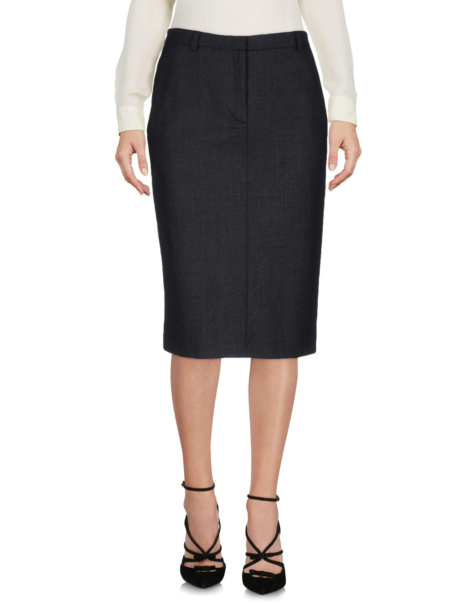 aspesi female aspesi knee length skirts