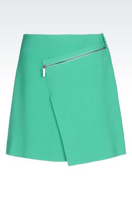 Armani Mini skirts Women skirt in cavalry fabric