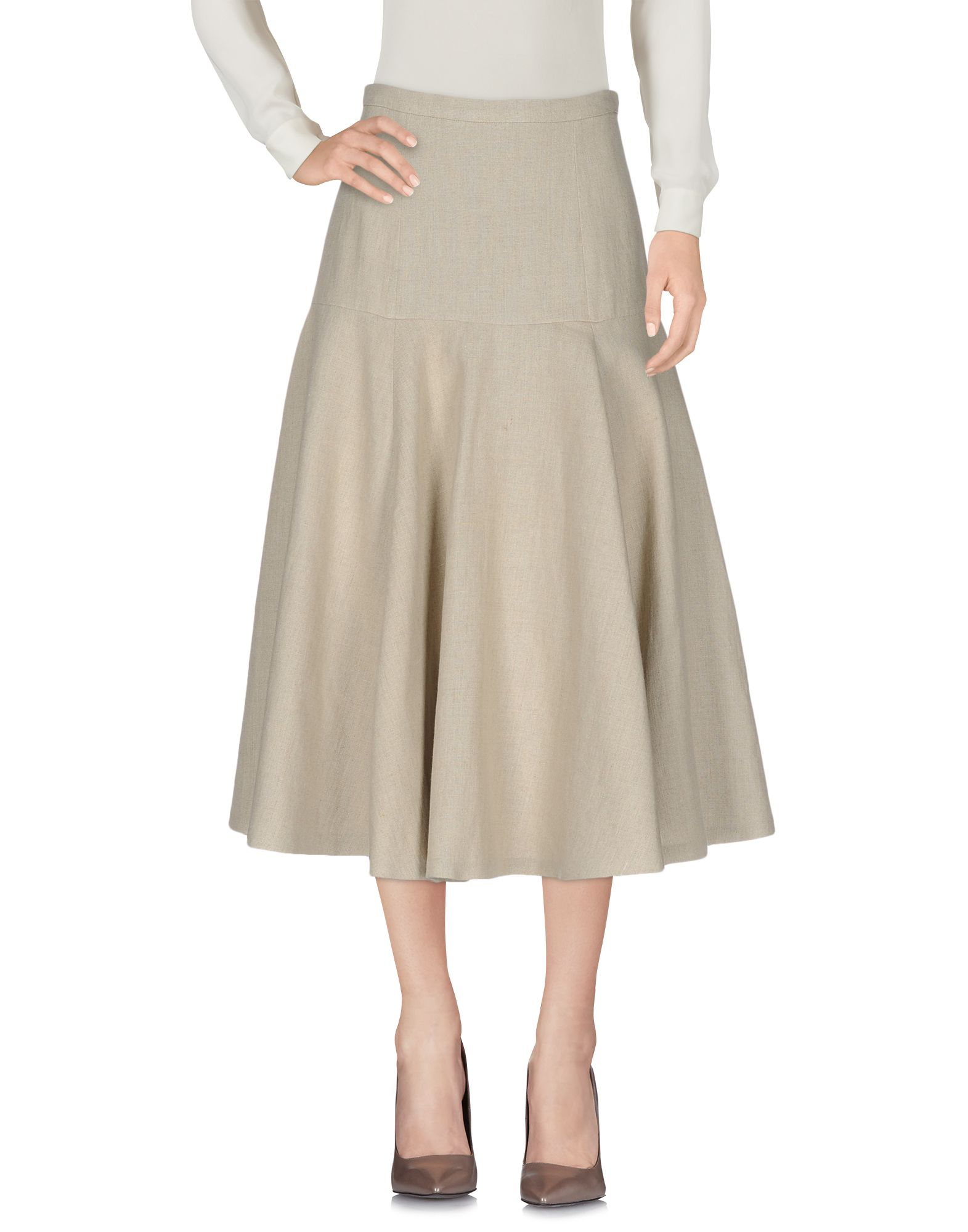 michael kors female  michael kors collection 34 length skirts