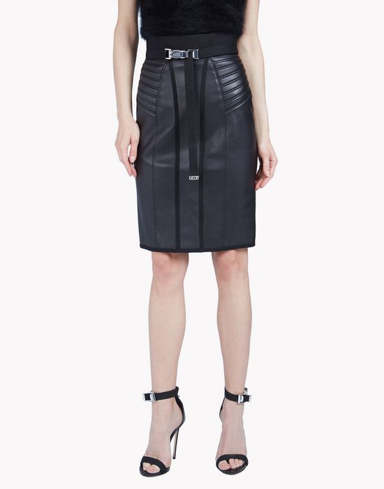 cyclone leather skirt skirts Woman Dsquared2