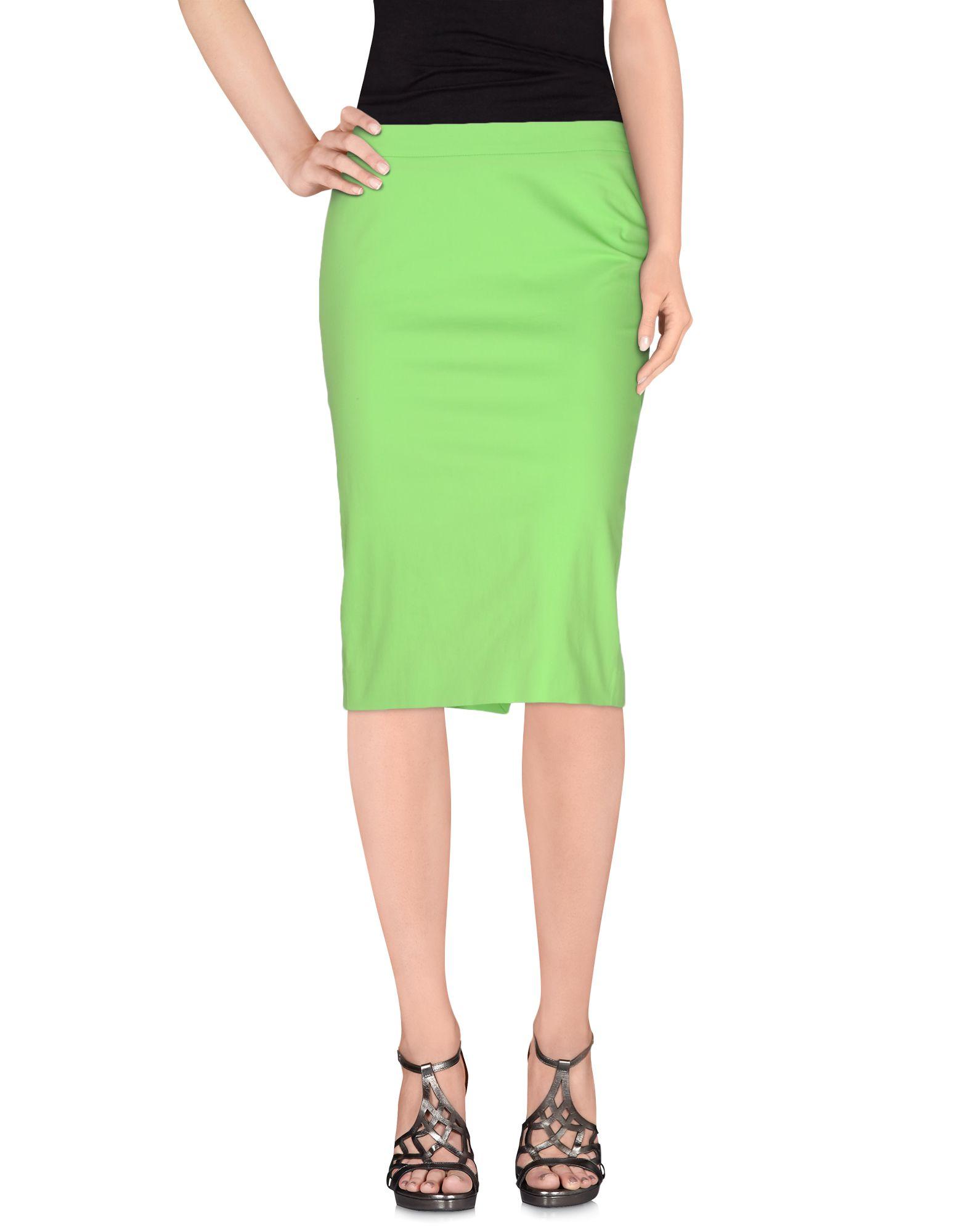 patrizia pepe female patrizia pepe knee length skirts