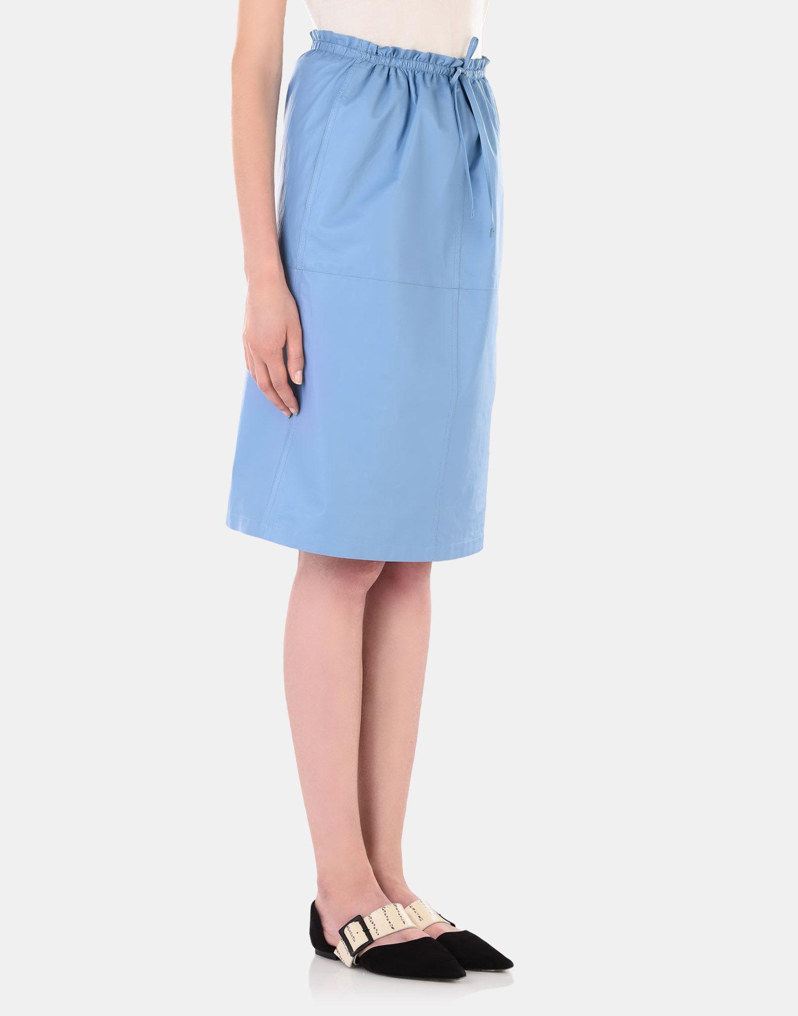 Leather skirt - JIL SANDER Online Store