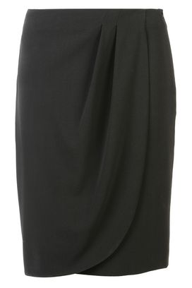 Armani Knee length skirts Women gathered pencil skirt
