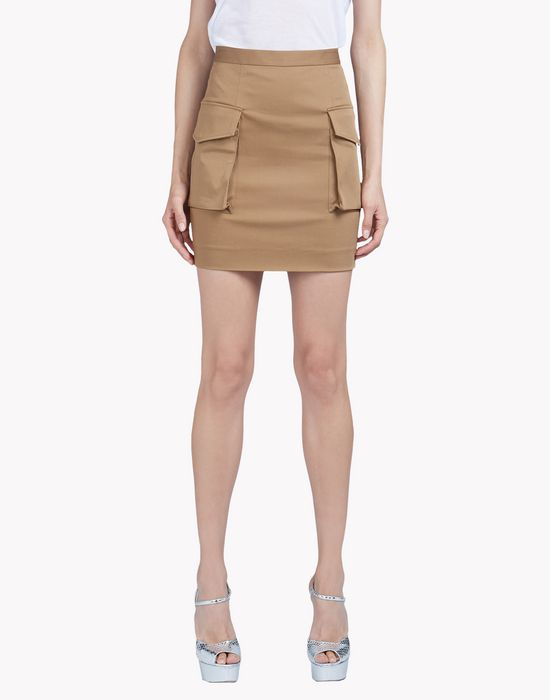 cargo mini skirt jupes Femme Dsquared2