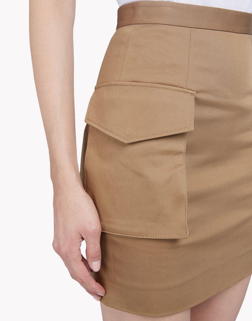 military cotton mini skirt skirts Woman Dsquared2