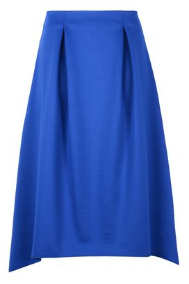 Armani 3/4 length skirts Women solid colour mid-length jersey skirt