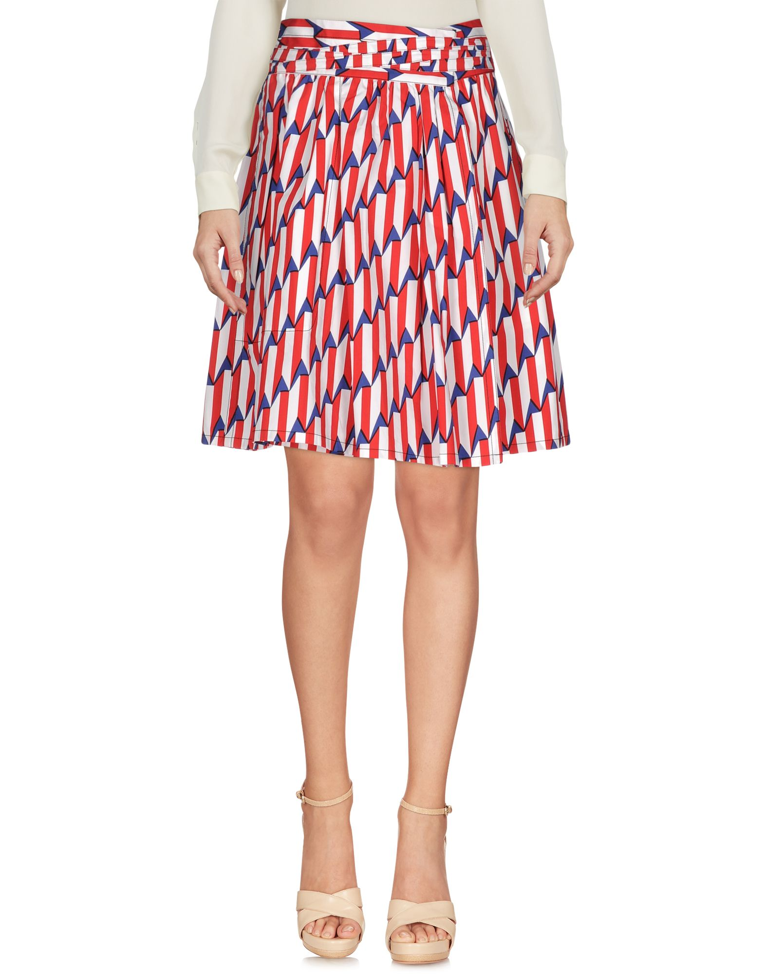 marc jacobs female  marc jacobs knee length skirts