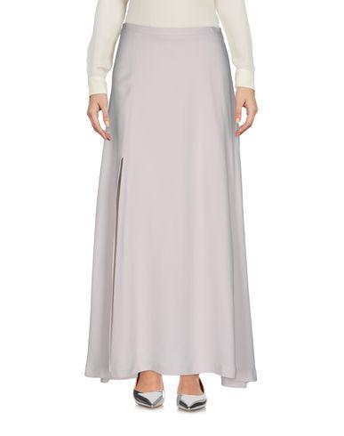Длинная юбка ALYSI. Цвет: светло-серый
