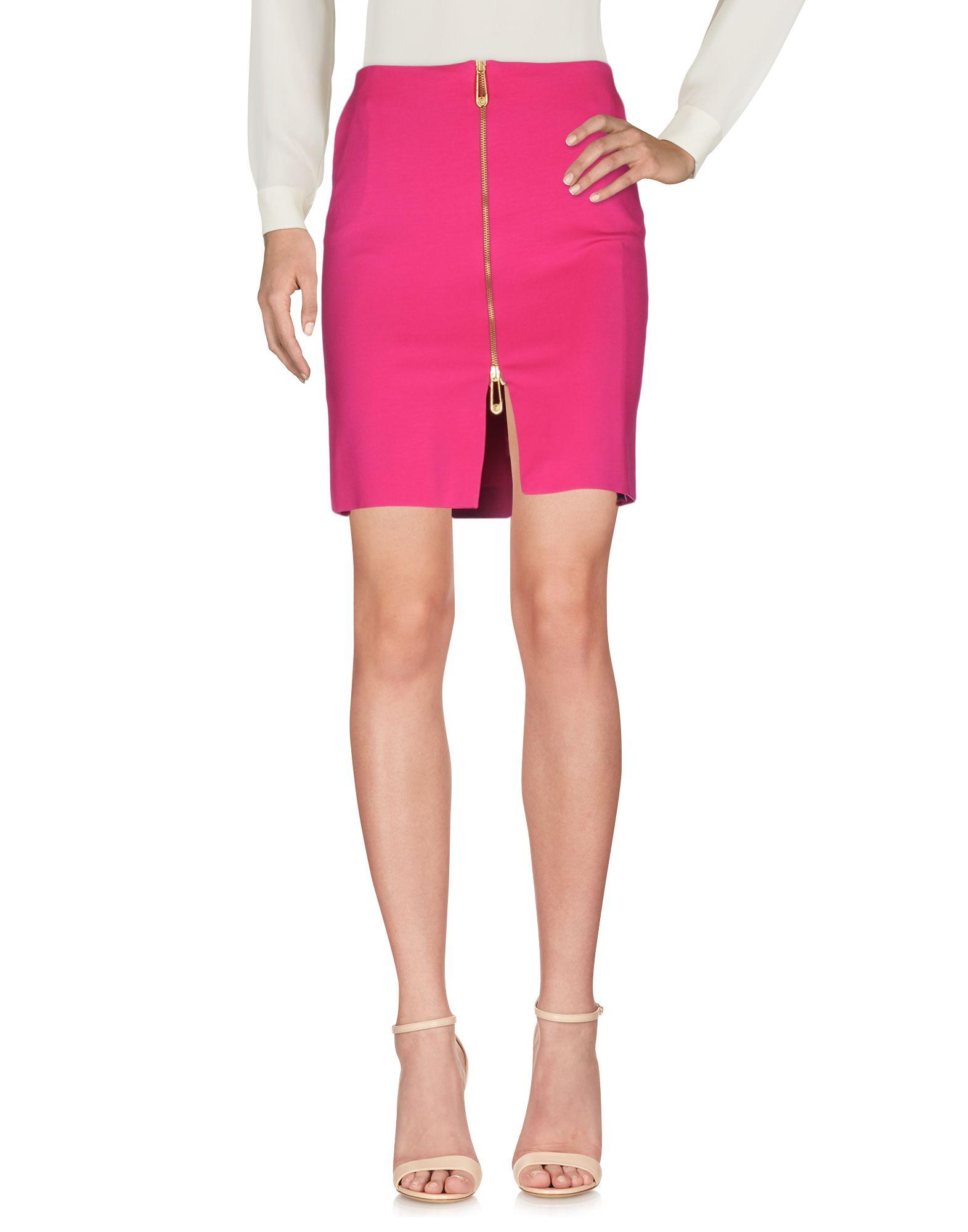 versace versus female versus knee length skirts