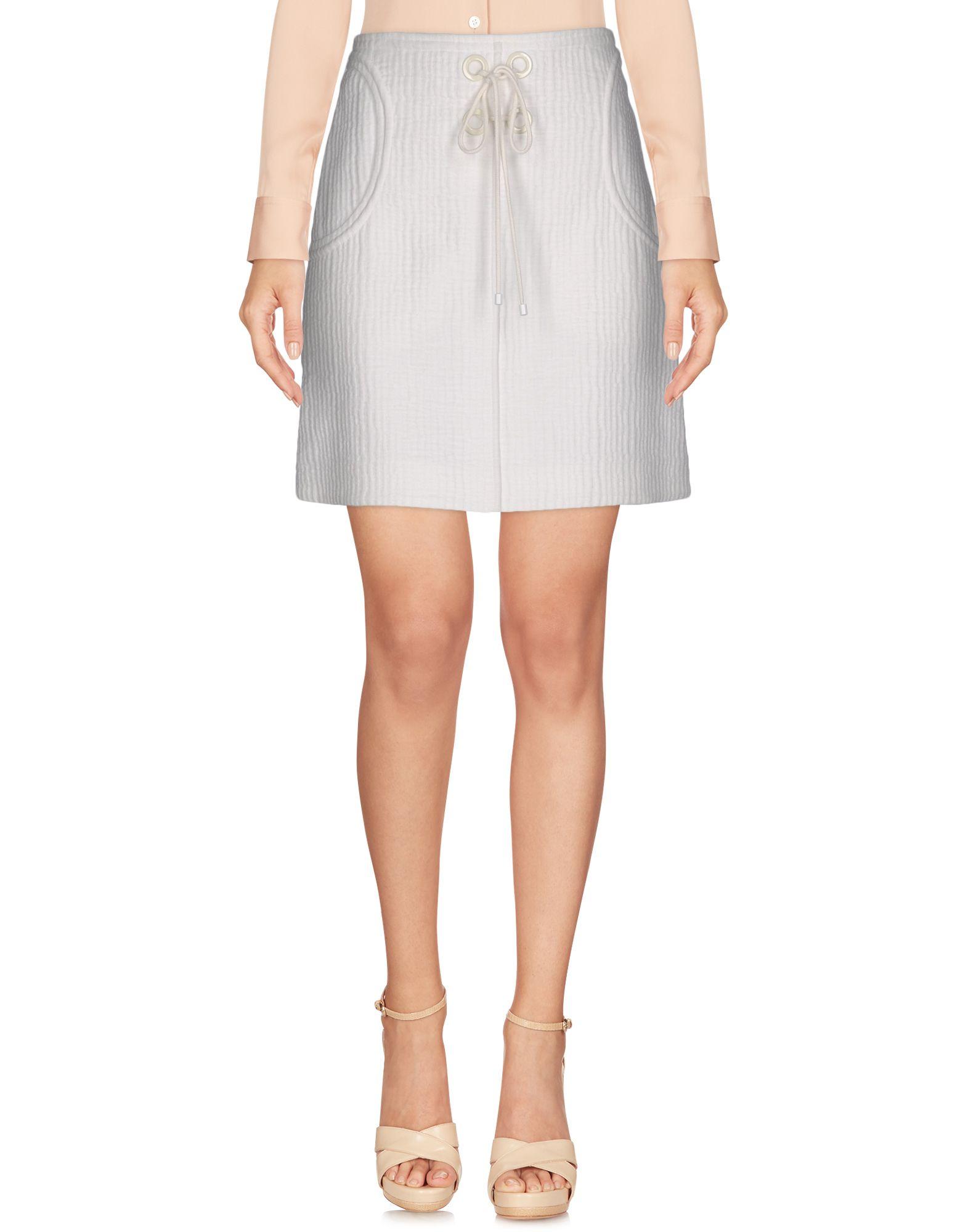 vanessa bruno female vanessa bruno knee length skirts