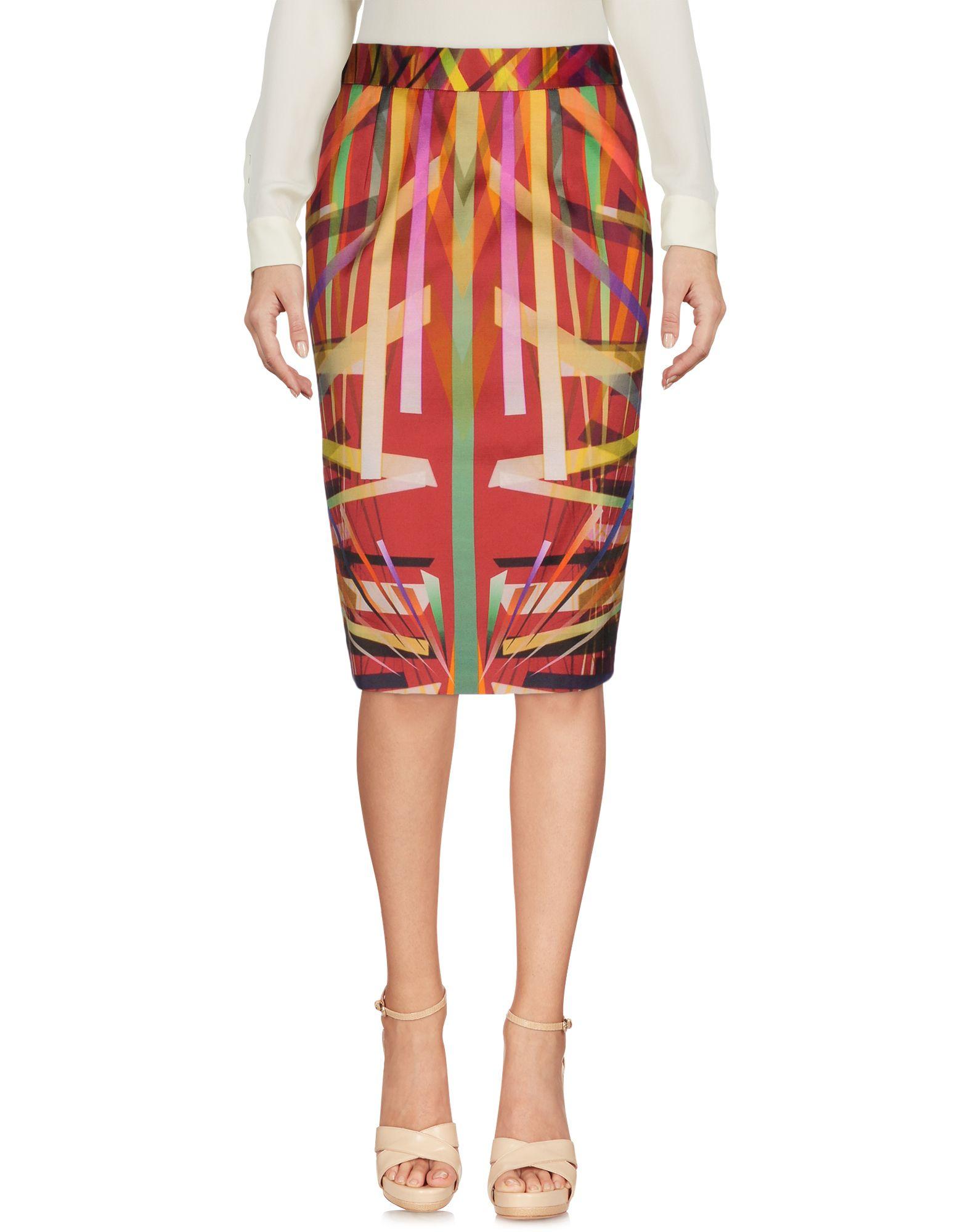 escada female escada knee length skirts
