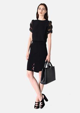 Armani Skirts Women stretch viscose tricotine sheath skirt