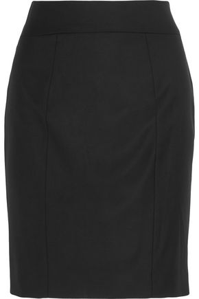 조셉 JOSEPH Clara wool-twill pencil skirt,Black