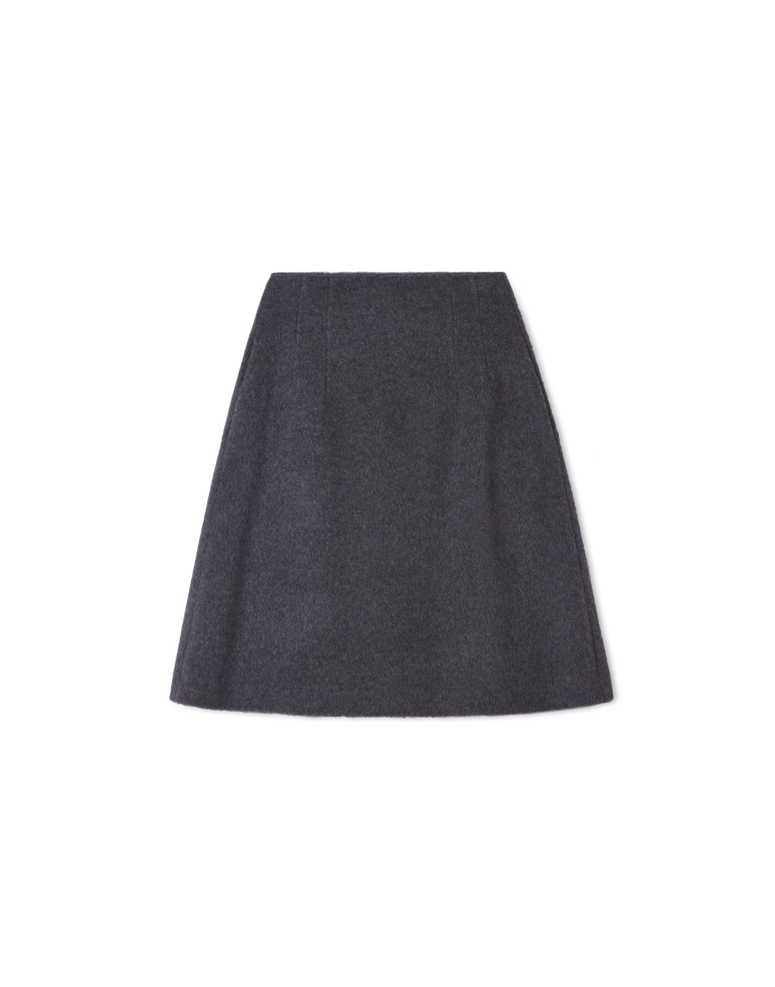 SKIRT - STEEL GREY