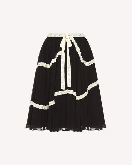 REDValentino Skirt Woman QR3RA02Z3U7 0NO a