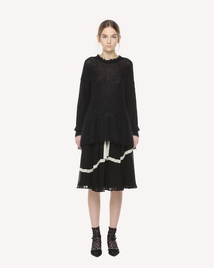 REDValentino 半裙 女士 QR3RA02Z3U7 0NO f