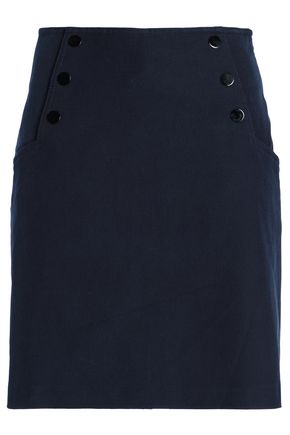 산드로 Sandro Twill mini skirt,Navy
