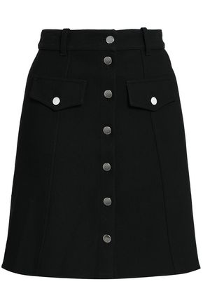 마쥬 MAJE Crepe mini skirt,Black