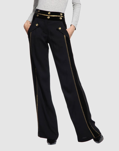 DEREK LAM Women - Pants - Casual pants DEREK LAM on YOOX :  velvet crepe derek lam casual
