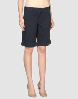 40WEFT TROUSERS Bermuda shorts WOMEN on YOOX.COM
