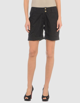 ADDICT TROUSERS Bermuda shorts WOMEN on YOOX.COM