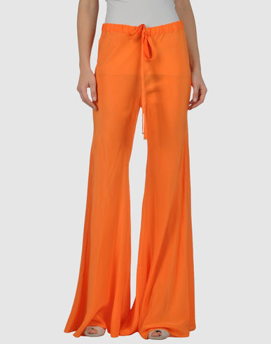 CLASS ROBERTO CAVALLI - Silk Wide Leg pants