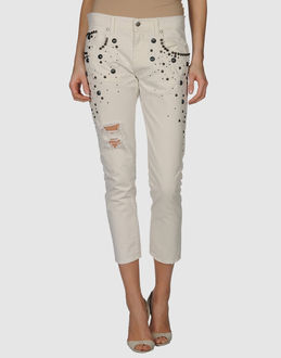 (+) PEOPLE TROUSERS 3/4-length trousers WOMEN on YOOX.COM