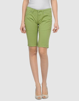 3UNO3 TROUSERS Bermuda shorts WOMEN on YOOX.COM