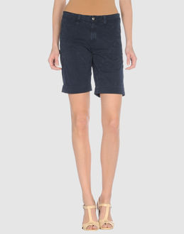 9.2 BY CARLO CHIONNA TROUSERS Bermuda shorts WOMEN on YOOX.COM