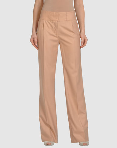 SALVATORE FERRAGAMO Wool Dress Trousers from yoox.com