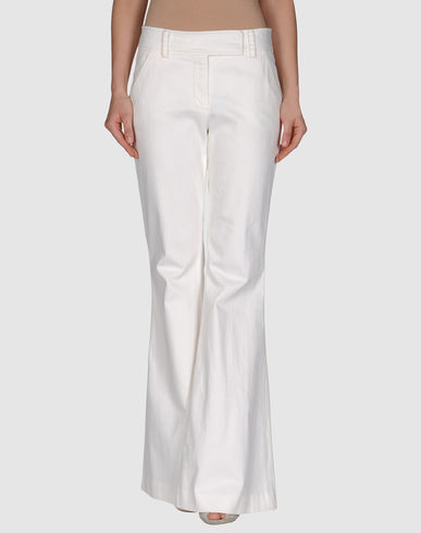 DIANE VON FURSTENBERG Wide Leg Trousers from yoox.com