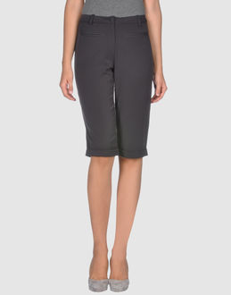 ...LOVE IS LOVE!... TROUSERS Bermuda shorts WOMEN on YOOX.COM