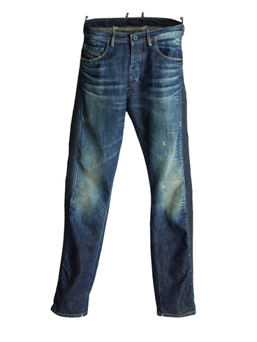 DIESEL BLACK GOLD - Jeans - PEACOCK