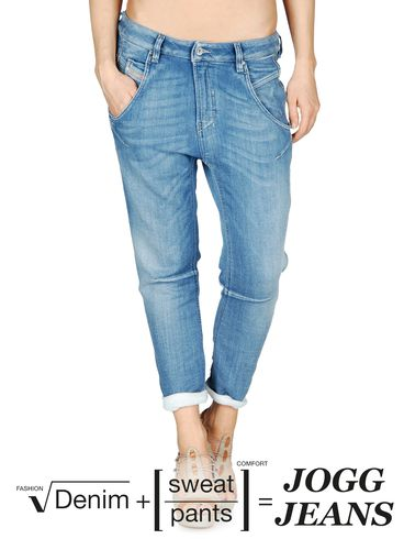 DIESEL - Joggjeans - FAYZA-N.E. 0800H