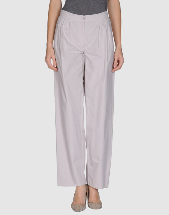 Повседневные брюки RE.SET. Цвет: светло-серый