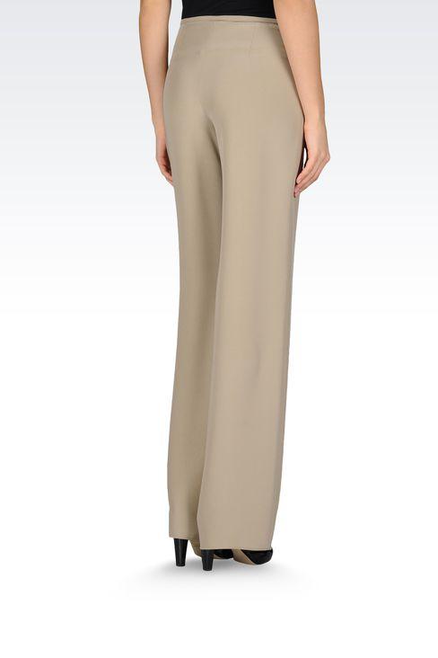 Pants: Wide-leg trousers Women by Armani - 3