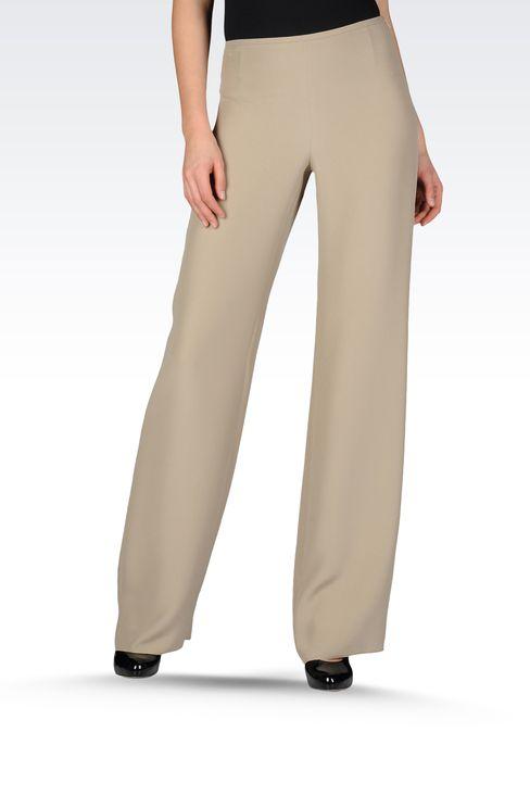 Pants: Wide-leg trousers Women by Armani - 1
