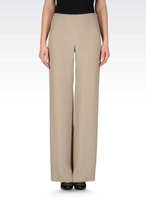 Pants: Wide-leg trousers Women by Armani - 2