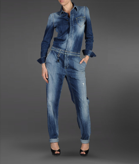 Denim overall
