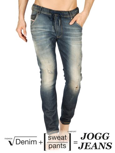 DIESEL - Joggjeans - KROOLEY-NE 0802Q