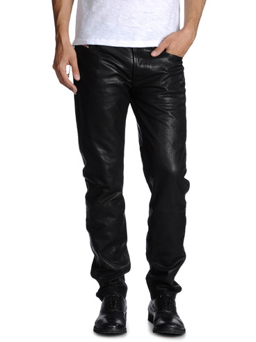DIESEL - Pants - PERUNLEATHER