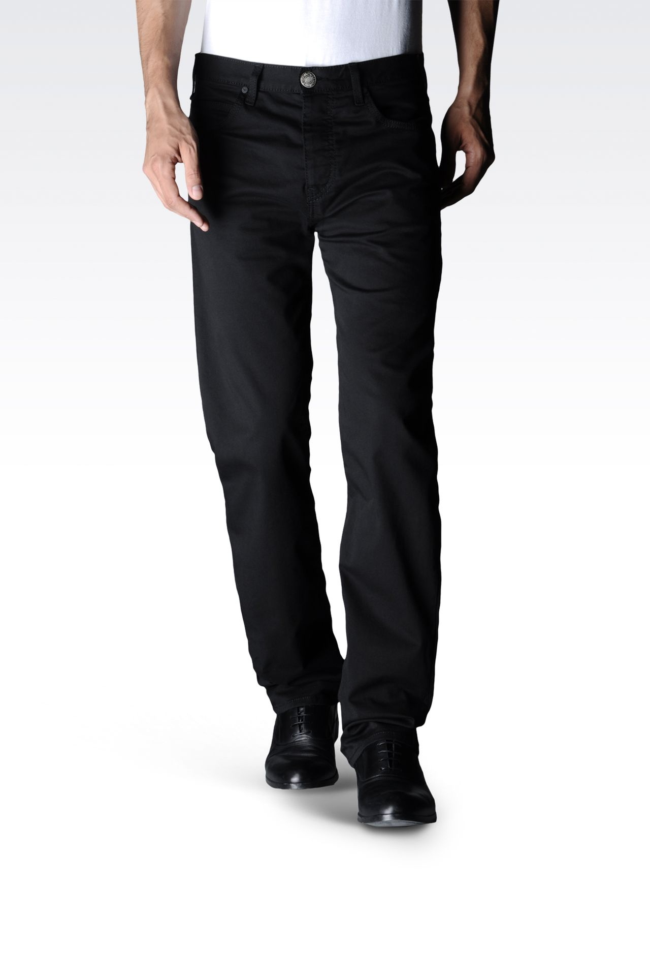 Pants: High-waist pants Men by Armani - 0