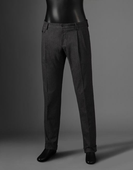CHINOS  - Formal trousers - Dolce&Gabbana - Winter 2016