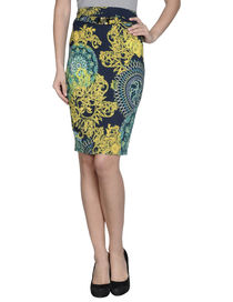 VERSACE COLLECTION - Knee length skirt