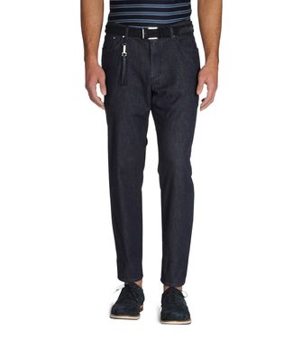 ERMENEGILDO ZEGNA: Denim Dark brown - 36394567GU