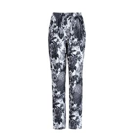STELLA McCARTNEY, Stretto in fondo, Christine Trousers - Pantaloni Stampa Toile De Jouy